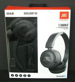 JBL T450BT Bluetooth Wireless On-Ear Headphones  New in Box