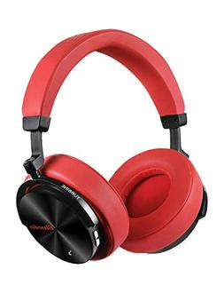 Bluedio T5 Active Noise Cancelling Headphones Over Ear Wirel