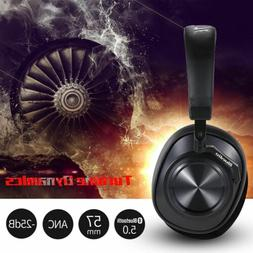 Bluedio T6 Headphones Wireless Noise Cancelling Bass Stereo
