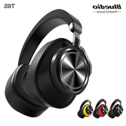 Bluedio T6S Bluetooth Headphones ANC Wireless Headset Voice