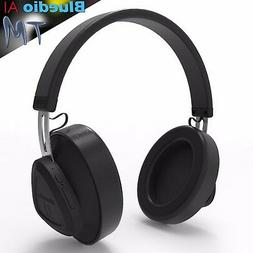 Bluedio TM Bluetooth 5.0 Wireless Smart Headphones Music Hea