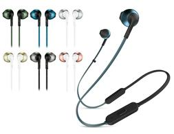 JBL Tune 205BT Bluetooth Wireless Neckband Earbud Headphones