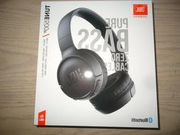 JBL TUNE 500 BT WIRELESS  HEADPHONES PURE BASS: BLACK BRAND