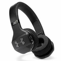 UA Sport Wireless Train Headphones Black – Engineered by J