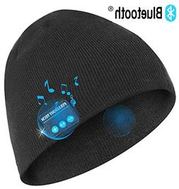Upgraded V4.2 Bluetooth Beanie Hat Headphones Wireless Heads