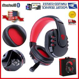 US Wireless Gaming Headset Headphones With Microphone For PS