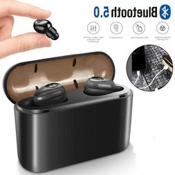 Waterproof Bluetooth 5.0 Earbuds Headphones Wireless Headset
