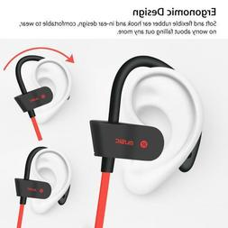 waterproof bluetooth earbuds sports wireless headphones in