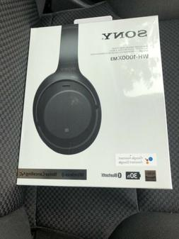 Sony WH-1000XM3 Wireless Over-the-Ear Headphones - Black- Br