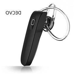 DECVO Wireless Bluetooth 4.0 Headset Headphone Earphone, Mus