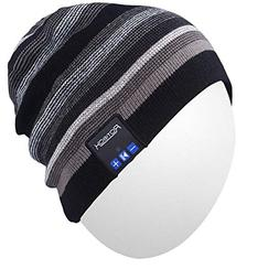 Qshell Wireless Bluetooth Beanie Hat Cap with Musicphone Spe