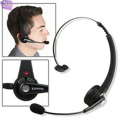 Wireless Bluetooth Black Headphone Headset with Mic for Sony