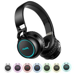 Picun Wireless Bluetooth Headphone Over Ear Foldable Headset
