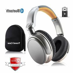 Wireless Bluetooth Headphones Stereo Super Bass Headset Over