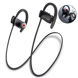 Wireless Bluetooth Headphones with 12 hours Playtime Upgrade