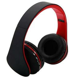 Wireless Headset Universal Foldable Stereo Headphone With FM