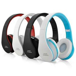 Wireless Bluetooth Kids Headphones Headphone Ear Foldable iP