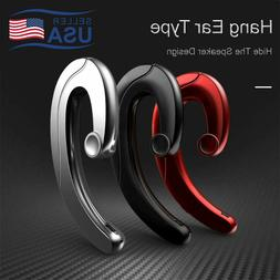 Wireless Bluetooth Bone Conduction Earphone Headset Sport He