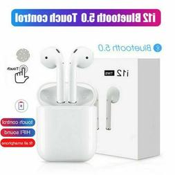 i12 TWS Wireless Earbuds Bluetooth 5.0 Mini Earphone Headpho