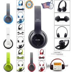 Wireless Gaming Headset Bluetooth Stereo With Mic Headphones