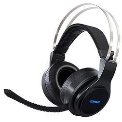 Stereo Gaming Headset for PS4, PC, Wireless Headset 2.4Ghz O