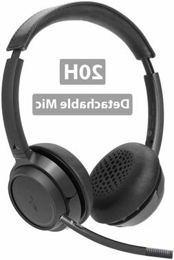 Avantree Wireless Headset with Boom Microphone for Computer